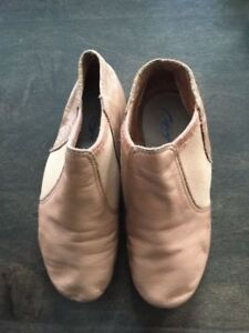 Size youth 12 leather dance shoes