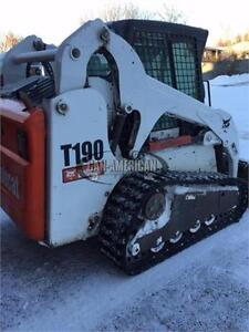 2007 BOBCAT T190 SKID STEER TRACK LOADED