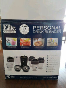 17pc Blender - only used once but the motor doesn't work