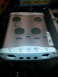Tascam USB Audio Interface. We Sell Used Studio and DJ Equipment. Get a Deal at Busters Pawn (#17179)