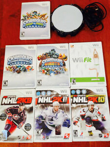 7 NINTENDO Wii GAMES