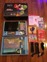 Like New Nintendo Wii Bundle - limited edition with extras