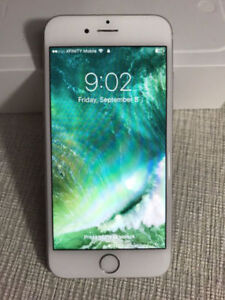Apple iPhone 6 silver 16 GB with tbaytel