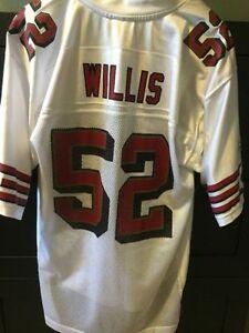 San Francisco 49ers Jersey - Reebok, Patrick Willis size M Edmonton Edmonton Area image 1