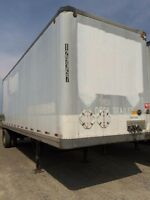 1997 Strick Storage Van, Used Storage Trailer