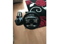 Logitech G27 Steering Wheel + Wheel stand pro