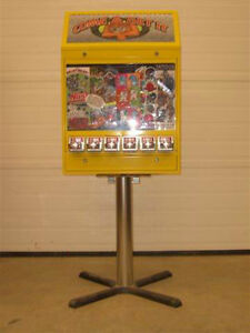 $200 Sticker/Tattoo Vending Machine (6 Column) with 250 stickers