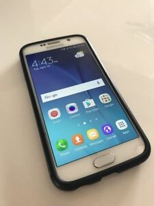 WHITE Samsung Galaxy S6 32 GB UNLOCKED + WIND / FREEDOM