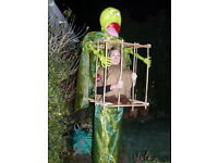 HALLOWEEN ADULT FANCY DRESS COSTUME - GHOST BUSTER IN A CAGE