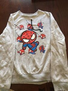 Brand new - Spider man sweater - Size Large