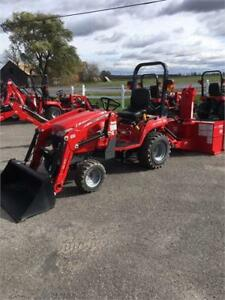 Massey Ferguson GC1705 Snow Package - $299/month