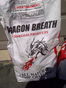 Charcoal - Dragon Breath All Natural Lump - 9.07kg (20 lbs) Kitchener / Waterloo Kitchener Area image 1