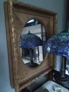 Antique Mirror Solid Wood Frame
