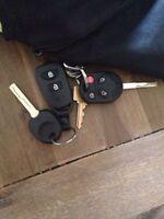 clés ford et hyundai (perdu)