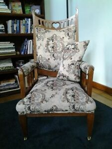 FANCY ANTIQUE CHAIR