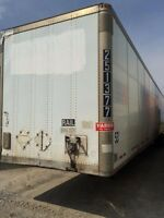 2001 Wabash Storage Van, Used Storage Trailer