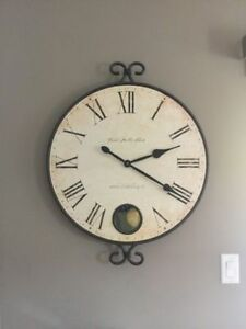 LARGE DECORATIVE CLOCK FOR SALE