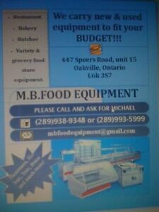 used restaurant , bakery and food store equipment