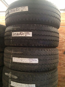 4 USED FIRESTONE TRANSFORCE A/T TIRES 285/60R20