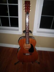1970's Pan Acoustic Guitar...Made In Japan By Aria.