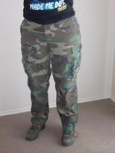 Green Army Surplus Pants