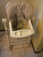 Gently used high chair $30 OBO