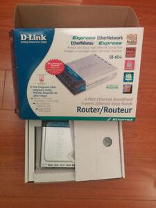 D-Link DI-604 Ethernet Broadband Router