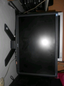 """19"""" slightly dated perfectly functional Acer Monitor"""