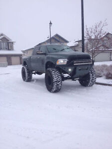 2013 Dodge Ram 2500 Laramie Lifted Diesel Showtruck