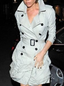 Inspired Burberry Trench Coat Dress