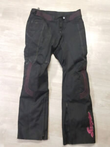 Women's motorcycle pants size M