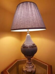 Beautiful antique style table lamps