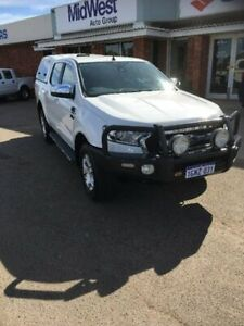 2016 Ford Ranger PX MkII XLT Double Cab White 6 Speed Sports Automatic Utility Beresford Geraldton City Preview