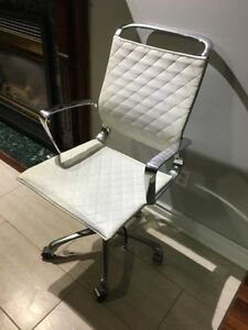 ZUO White Luxury Office Chair