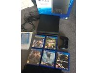 Ps4 1TB Bundle for sale ( Playstation 4 Console & Games )