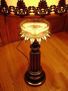 Vintage Stiffel Brass Lamps with glass reservoir (price is each) Kitchener / Waterloo Kitchener Area image 3