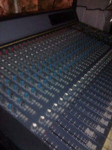 24 track analog mixing console, 500$ or best offer