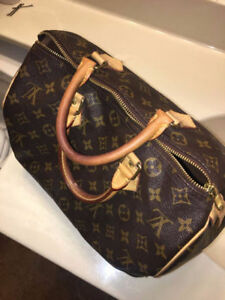 Louis Vuitton Speedy 35 Monogram - Well Maintained, Authentic