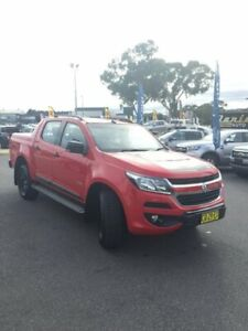 2017 Holden Colorado RG MY18 Z71 Pickup Crew Cab Red 6 Speed Sports Automatic Utility Goulburn Goulburn City Preview