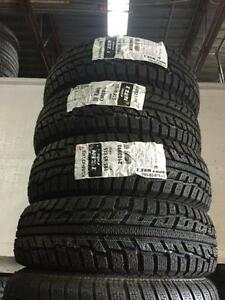 "Four New 195/65/R15 Kumho Izen Winters with 15"" steel rims"