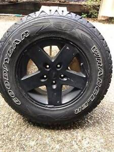 Jeep Wrangler Goodyear Tyre P245/75r17 110T Forest Lake Brisbane South West Preview