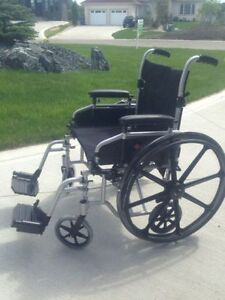 2 in1 Wheelchair and Transport Chair (BRAND NEW)