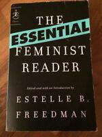 Freedman - The Essential Feminist Reader - ENG 281
