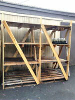 Free Tiered Wooden Pallets