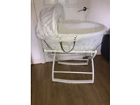 Moses Basket + Stand Pick Up MANCHESTER