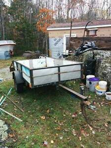 UTILITY TRAILER FOR SALE!!! NEW SAFETY