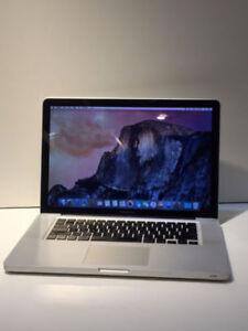 Apple Macbook pro 2009 15p Seulement 449.95$