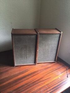Antique Fleetwood speakers, great price!