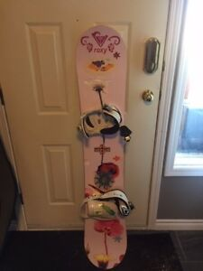 Women's Snowboard with Bindings - $50