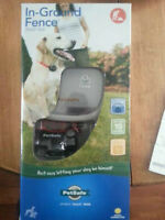 Brand New in box - dog collar in ground fence - with receipt